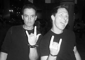 Dan and Brian 2009