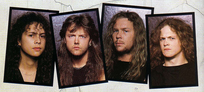metallica band photos
